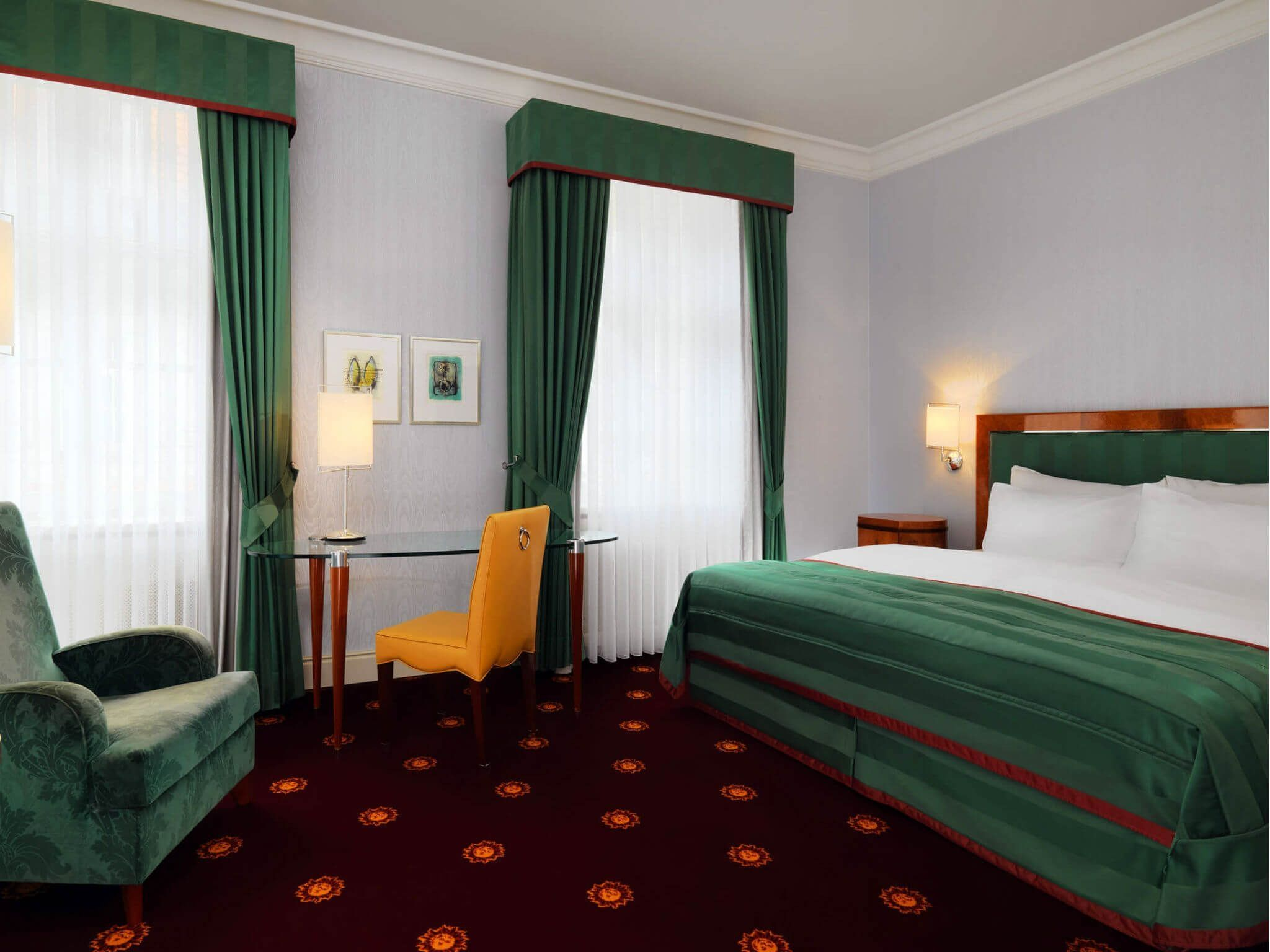 Hotel Leipzig - Deluxe Rooms at Hotel Fürstenhof